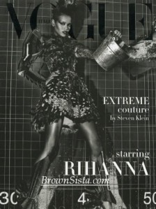 Rhi-Rhi's Italian Vogue Supplement
