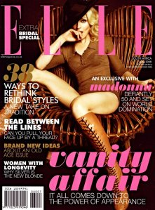 Madonna Elle South Africa