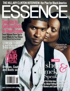 Usher & wifey